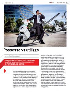Possesso vs utilizzo